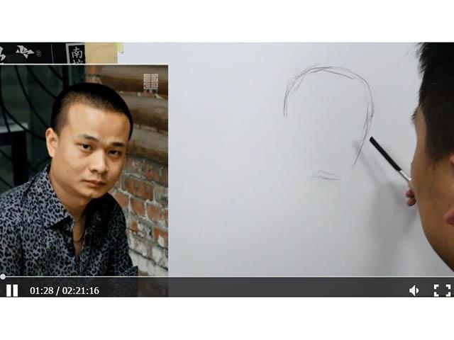 素描人物——汪钊