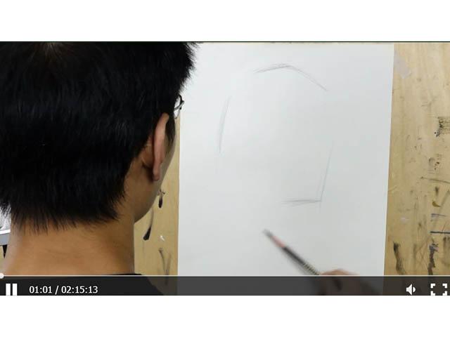 素描人物——刘宇